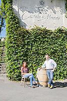 SonntagsZeitung, Castello Morcote, Gaby Gianini, Winzer