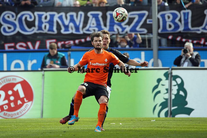 Marcel Heller (SV98) - FSV Frankfurt vs. SV Darmstadt 98, Frankfurter Volksbank Stadion