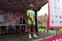 TUNJA - COLOMBIA- 21- 02-2016: Equipo Liga del Caqueta conformado por Jeison Mauricio Quintero durante su presentación previo a la prueba ruta individual categoría elite hombres entre las ciudades de Sogamoso y Tunja en una distancia 174,6 km kilometros de Los Campeonato Nacionales de Ciclismo 2016, que se realizan en Boyaca. / Liga del Caqueta team formed by Jeison Mauricio Quintero during his presentation prior the Elite test individual route men between the towns of Sogamoso and Tunja at a distance of 174,6 km of the National Cycling Championships 2016 performed in Boyaca. / Photo: VizzorImage / Cesar Melgarejo / Cont.