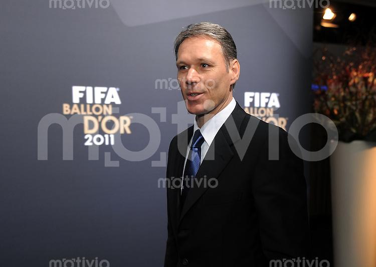 Fussball International  FIFA Ballon d Or / Weltfussballer 2011   09.01.2012 Marco Van Basten (Hollend) OTO: Pressefoto ULMER/Markus Ulmer xxNOxMODELxRELEASExx