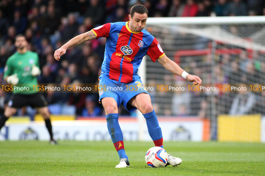 Damien Delaney of Crystal Palace- Crystal Palace vs Blackburn Rovers - NPower Championship Football at Selhurst Park, London - 03/11/12 - MANDATORY CREDIT: George Phillipou/TGSPHOTO - Self billing applies where appropriate - 0845 094 6026 - contact@tgsphoto.co.uk - NO UNPAID USE.