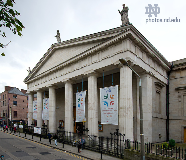 Dublin: Pro-Cathedras..Photo by Matt Cashore/University of Notre Dame