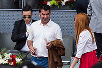 Arturo Valls during the ATP final of Mutua Madrid Open Tennis 2017 at Caja Magica in Madrid, May 14, 2017. Spain. /NortePhoto.com