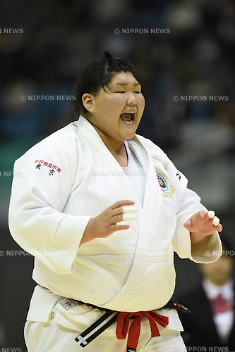 Sarah Asahina, <br /> NOVEMBER 8, 2014 - Judo : <br /> Kodokan Cup 2014 <br /> Women's +78kg semi-final <br /> at Chiba Port Arena, Chiba, Japan. <br /> (Photo by AFLO SPORT) [1220]