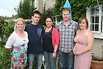 Tracey, Andrew, Ruth, Jeff and Emma Finnegan who are celebrating their late father Herbie's 60th Birthday...Photo NEWSFILE/Jenny Matthews.(Photo credit should read Jenny Matthews/NEWSFILE)....This Picture has been sent you under the condtions enclosed by:.Newsfile Ltd..The Studio,.Millmount Abbey,.Drogheda,.Co Meath..Ireland..Tel: +353(0)41-9871240.Fax: +353(0)41-9871260.GSM: +353(0)86-2500958.email: pictures@newsfile.ie.www.newsfile.ie.FTP: 193.120.102.198.