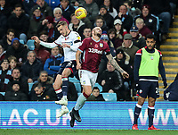 Bolton Wanderers' Craig Noone competing with Aston Villa's Alan Hutton<br /> <br /> Photographer Andrew Kearns/CameraSport<br /> <br /> The EFL Sky Bet Championship - Aston Villa v Bolton Wanderers - Friday 2nd November 2018 - Villa Park - Birmingham<br /> <br /> World Copyright &copy; 2018 CameraSport. All rights reserved. 43 Linden Ave. Countesthorpe. Leicester. England. LE8 5PG - Tel: +44 (0) 116 277 4147 - admin@camerasport.com - www.camerasport.com
