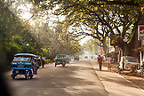 PHILIPPINES, Palawan, early morning street scene in the streets of Puerto Princessa
