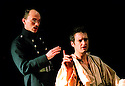Dan Fredenberburgh,,Will Keen  in RSC production The Prince of Homburgh Directed by Neil Bartlett opens at the Swann Theatre Stratford 30/1/02  pic Geraint Lewis