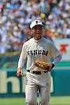 Kotaro Kiyomiya, AUGUST 8, 2015 - Baseball : 97th Japanese High School Baseball Championship first round match Imabari West 0-6 Waseda Jitsugyo at Hanshin Koshien Stadium in Nishinomiya, Hyogo, Japan. (Photo by BFP/AFLO)