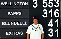 Firebirds opener Michael Papps after his innings of 316 on day two of the Plunket Shield cricket match between the Wellington Firebirds and Auckland Aces at the Hawkins Basin Reserve in Wellington, New Zealand on Tuesday, 24 October 2017. Photo: Dave Lintott / lintottphoto.co.nz