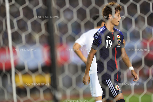 Yoichiro Kakitani (JPN),<br /> AUGUST 14, 2013 - Football / Soccer :<br /> Kirin Challenge Cup 2013 match between Japan 2-4 Uruguay at Miyagi Stadium in Miyagi, Japan. (Photo by Takahisa Hirano/AFLO)