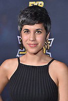 """HOLLYWOOD - SEPTEMBER 24: Ashly Burch attends the red carpet premiere event for FXX's """"It's Always Sunny in Philadelphia"""" Season 14 at TCL Chinese 6 Theatres on September 24, 2019 in Hollywood, California. (Photo by Stewart Cook/FXX/PictureGroup)"""