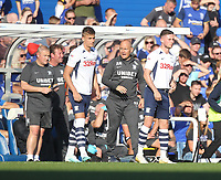 Preston North End's Manager Alex Neil makes a double substitution<br /> <br /> Photographer Mick Walker/CameraSport<br /> <br /> The EFL Sky Bet Championship - Birmingham City v Preston North End - Saturday 21st September 2019 - St Andrew's - Birmingham<br /> <br /> World Copyright © 2019 CameraSport. All rights reserved. 43 Linden Ave. Countesthorpe. Leicester. England. LE8 5PG - Tel: +44 (0) 116 277 4147 - admin@camerasport.com - www.camerasport.com