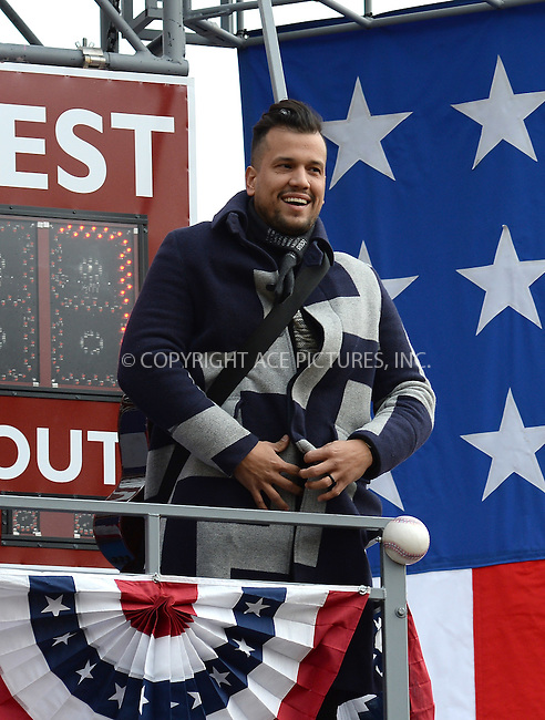 www.acepixs.com<br /> <br /> November 24 2016, New York City<br /> <br /> Abner Ramirez of Johnnyswim made an appearance at the 90th Annual Macy's Thanksgiving Day Parade on November 24, 2016 in New York City.<br /> <br /> By Line: Kristin Callahan/ACE Pictures<br /> <br /> <br /> ACE Pictures Inc<br /> Tel: 6467670430<br /> Email: info@acepixs.com<br /> www.acepixs.com