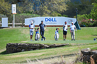 Chez Reavie (USA) and Jon Rahm (ESP) look over their tee shots on 11 during day 2 of the World Golf Championships, Dell Match Play, Austin Country Club, Austin, Texas. 3/22/2018.<br /> Picture: Golffile | Ken Murray<br /> <br /> <br /> All photo usage must carry mandatory copyright credit (&copy; Golffile | Ken Murray)