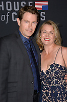 "LOS ANGELES, CA. October 22, 2018: Derek Cecil & Melissa Bruning at the season 6 premiere for ""House of Cards"" at the Directors Guild Theatre.<br /> Picture: Paul Smith/Featureflash"
