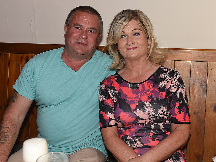 John and Therese Farrell at Donna Farrell's 30th birthday in the Rugby Club. Photo:Colin Bell/pressphotos.ie