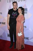 08 March 2018 - Las Vegas, NV -  Dan Reynolds, Aja Volkman. Special VIP screening of HBO Documentary film BELIEVER at KA Theatre at MGM Grand.    <br /> CAP/ADM/MJT<br /> &copy; MJT/ADM/Capital Pictures