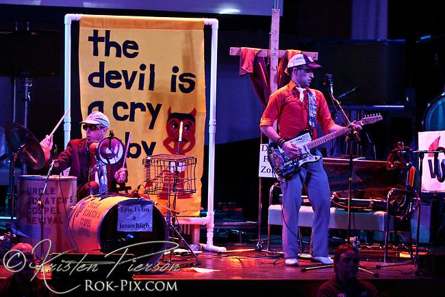 Uncle Scratch's Gospel Revival performing at Berklee Performance Center in Boston 3-15-10