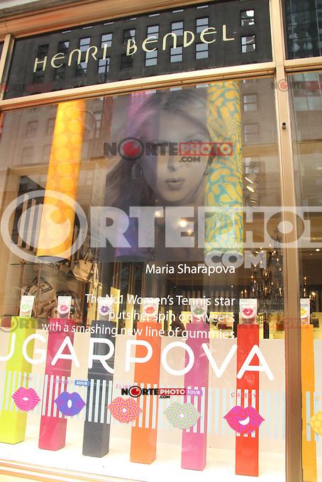 NEW YORK,NY - August 20, 2012: The Sugarpova Launch at Henri Bendel in New York City. &copy; RW/MediaPunch Inc. /NortePhoto.com<br /> <br /> **SOLO*VENTA*EN*MEXICO**<br /> **CREDITO*OBLIGATORIO**<br /> *No*Venta*A*Terceros*<br /> *No*Sale*So*third*<br /> *** No Se Permite Hacer Archivo**<br /> *No*Sale*So*third*