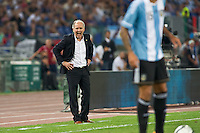 Argentina beats Italy 2-1 during the international friendly between Italy vs Argentina at Stadio Olimpico, in Rome, on August 14, 2013 in Rome. In the photo: Alejandro Sabella Argentina. Photo: Adamo Di Loreto/BuenaVista*photo