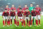 Guangzhou Evergrande squad pose for team photo during the AFC Champions League 2017 Round of 16 match between Guangzhou Evergrande FC (CHN) vs Kashima Antlers (JPN) at the Tianhe Stadium on 23 May 2017 in Guangzhou, China. (Photo by Power Sport Images/Getty Images)