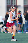 Santa Barbara, CA 02/18/12 - Katie Stemm (Arizona State #3) in action during the Arizona State vs BYU matchup at the 2012 Santa Barbara Shootout.  BYU defeated Arizona State 10-8.