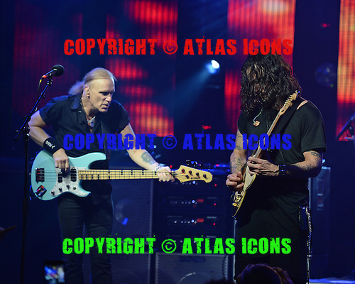 FORT LAUDERDALE, FL - OCTOBER 16: Billy Sheehan and Richie Kotzen of The Winery Dogs performs at The Culture Room on October 16, 2015 in Fort Lauderdale Florida. Credit Larry Marano © 2015