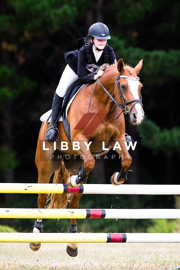 NZL-Niamh Walsh (MURPHY MCGEE) 2015 NZL-Hunua Pony Club ODE (Saturday 31 January) CREDIT: Libby Law COPYRIGHT: LIBBY LAW PHOTOGRAPHY
