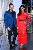 NOV 07 Jay Sean and Nina Davuluri light The Empire State Building for Diwali