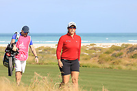 Carmen Alonso (ESP) during the second round of the Fatima Bint Mubarak Ladies Open played at Saadiyat Beach Golf Club, Abu Dhabi, UAE. 11/01/2019<br /> Picture: Golffile | Phil Inglis<br /> <br /> All photo usage must carry mandatory copyright credit (© Golffile | Phil Inglis)