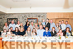 Wedding Renewal : Michael & Marty King, South Carolina celebrating their 25th wedding renewal at Behan's Horseshoe Bar & Restaurant, Listowel On Saturday evening last. Michaels grandfather was Deenihan from Tarbert.