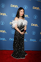 LOS ANGELES - FEB 2:  Constance Wu at the 2019 Directors Guild of America Awards at the Dolby Ballroom on February 2, 2019 in Los Angeles, CA