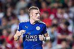 Leicester City FC forward Jamie Vardy reacts during the Premier League Asia Trophy match between Leicester City FC and West Bromwich Albion at Hong Kong Stadium on 19 July 2017, in Hong Kong, China. Photo by Yu Chun Christopher Wong / Power Sport Images
