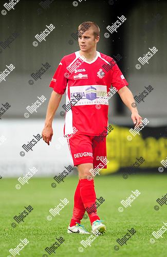 2014-07-19 / Voetbal / seizoen 2014-2015 / Hoogstraten VV / Bjorn Beyens<br /><br />Foto: mpics.be