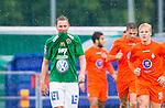 ***BETALBILD***  <br /> Solna 2015-07-25 Fotboll Superettan Athletic FC United - J&ouml;nk&ouml;pings S&ouml;dra IF :  <br /> J&ouml;nk&ouml;ping S&ouml;dras Fredrik Olsson deppar efter Athletics Omar Jawo 1-1 m&aring;l under matchen mellan Athletic FC United och J&ouml;nk&ouml;pings S&ouml;dra IF <br /> (Foto: Kenta J&ouml;nsson) Nyckelord:  Superettan Skytteholm Skytteholms IP AFC Athletic FC United J&ouml;nk&ouml;ping J-S&ouml;dra depp besviken besvikelse sorg ledsen deppig nedst&auml;md uppgiven sad disappointment disappointed dejected