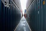 le 27 decembre 2012, le port du Havre avec ses 2,5 millions de conteneurs qui y transitent par an est le premier port commercial de France. Terminale France, Port 2000, dleHavre (76)