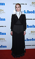 April.11, 2019 Noomi Rapace attend Smith Global Media &amp; Dark Star presents premiere of Stockholm at MOMA  in New York April 11, 2019.<br /> CAP/MPI/RW<br /> &copy;RW/MPI/Capital Pictures