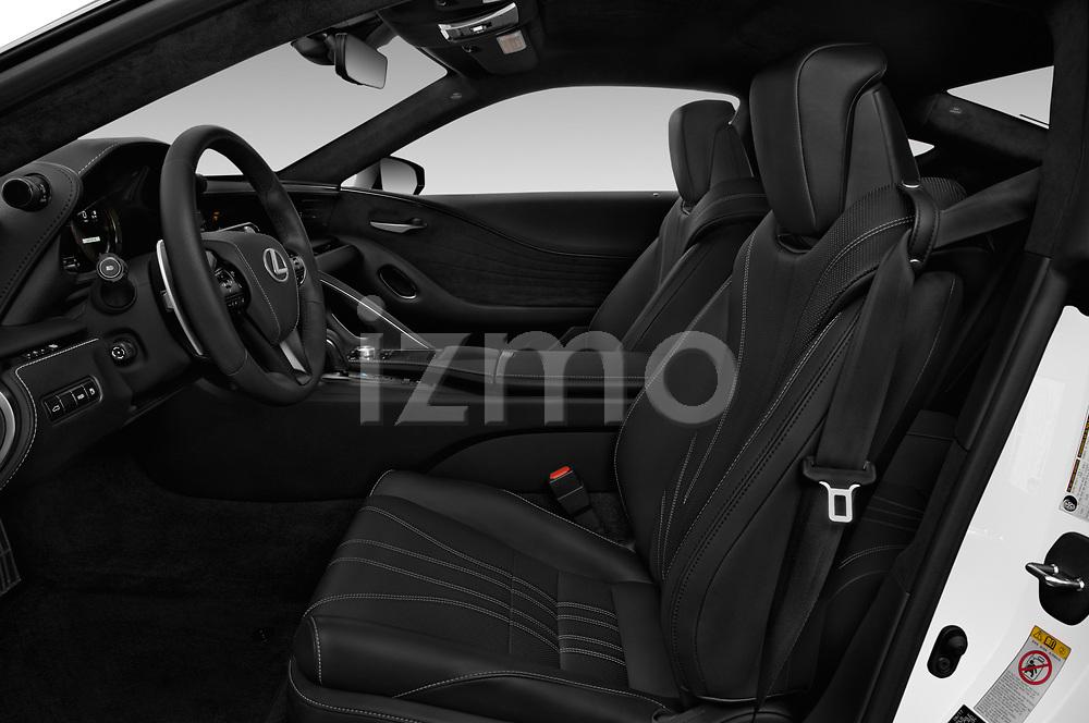 Front seat view of a 2018 Lexus RX 350L 4x2 Select Doors Door SUV front seat car photos