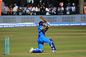 India's Rohit Sharman plays a shot during a T20 match between Ireland and India at the Malahide cricket club in Dublin on June 27, 2018. Photo/Paul McErlane