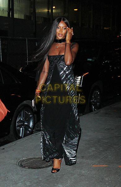 NEW YORK, NY - OCTOBER 23: Naomi Campbell arriving to the V Magazine Dinner in honor of Karl Lagerfeld at the Standard High Line in New York City on October 23, 2017. <br /> CAP/MPI/RW<br /> &copy;RW/MPI/Capital Pictures