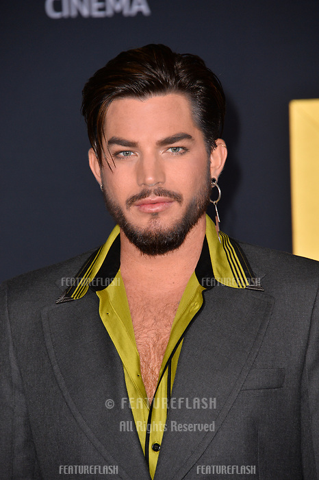 """LOS ANGELES, CA. September 24, 2018: Adam Lambert at the Los Angeles premiere for """"A Star Is Born"""" at the Shrine Auditorium.<br /> Picture: Paul Smith/Featureflash"""