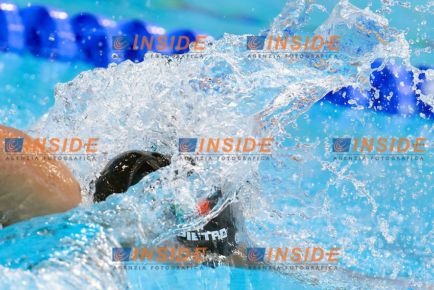 Silvia DI PIETRO ITA <br /> 100m Freestyle Women preliminary <br /> London, Queen Elizabeth II Olympic Park Pool <br /> LEN 2016 European Aquatics Elite Championships <br /> Swimming<br /> Day 09 17-05-2016<br /> Photo Andrea Staccioli/Deepbluemedia/Insidefoto