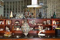 Vintage ornaments and frames