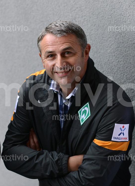 FUSSBALL   1. BUNDESLIGA   SAISON 2012/2013   TESTSPIEL   20.07.2012 SV Werder Bremen - Energie Cottbus    Manager Klaus Allofs (SV Werder Bremen)