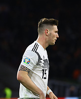 Niklas Süle (Deutschland Germany) - 24.03.2019: Niederlande vs. Deutschland, EM-Qualifikation, Amsterdam Arena, DISCLAIMER: DFB regulations prohibit any use of photographs as image sequences and/or quasi-video.