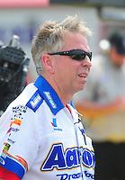 May 1, 2011; Baytown, TX, USA: NHRA funny car crew chief Rahn Tobler during the Spring Nationals at Royal Purple Raceway. Mandatory Credit: Mark J. Rebilas-