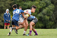 Hurricanes U15 Rugby - Ngati Porou v Aotea College at Trentham Memorial Park, Silverstream, Upper Hutt, New Zealand on Friday 6 September 2019. <br /> Photo by Masanori Udagawa. <br /> www.photowellington.photoshelter.com