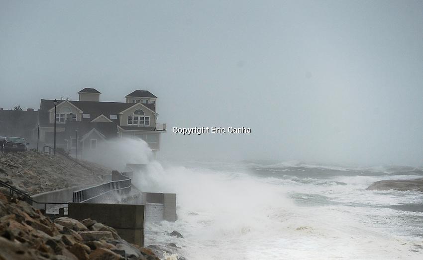 October 29, 2012 Minot Massachusetts: Hurricane Sandy makes her presence known even though she's still hundreds of miles south of Massachusetts.