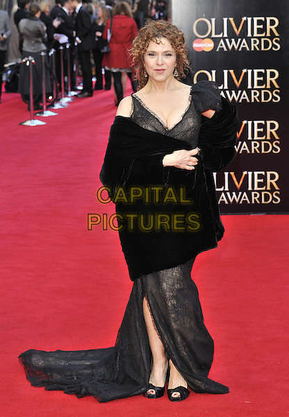 LONDON, ENGLAND - APRIL 13: Bernadette Peters attends the Olivier Awards 2014, Royal Opera House, Covent Garden, on Sunday April 13, 2014 in London, England, UK.<br /> CAP/CAN<br /> &copy;Can Nguyen/Capital Pictures